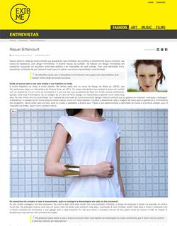 Entrevista para o site Exib.me