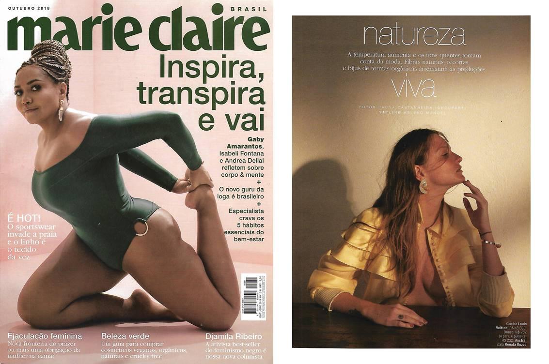 Revista Marie Claire Outubro de 2018