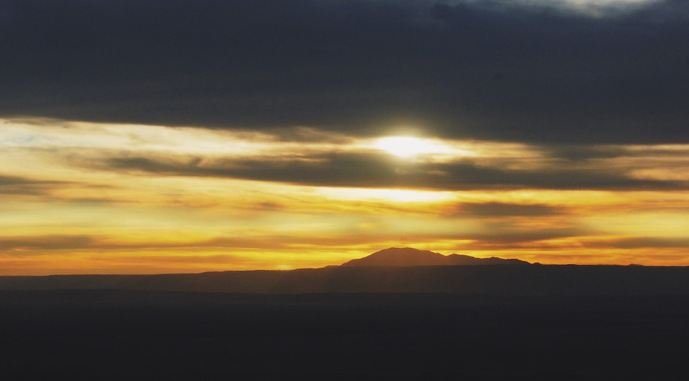 Pôr-do-sol - Desierto de Atacama, Chile - 2015 - Foto Raquel Bloomfield