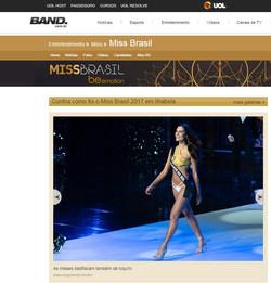 Band UOL Miss Brasil