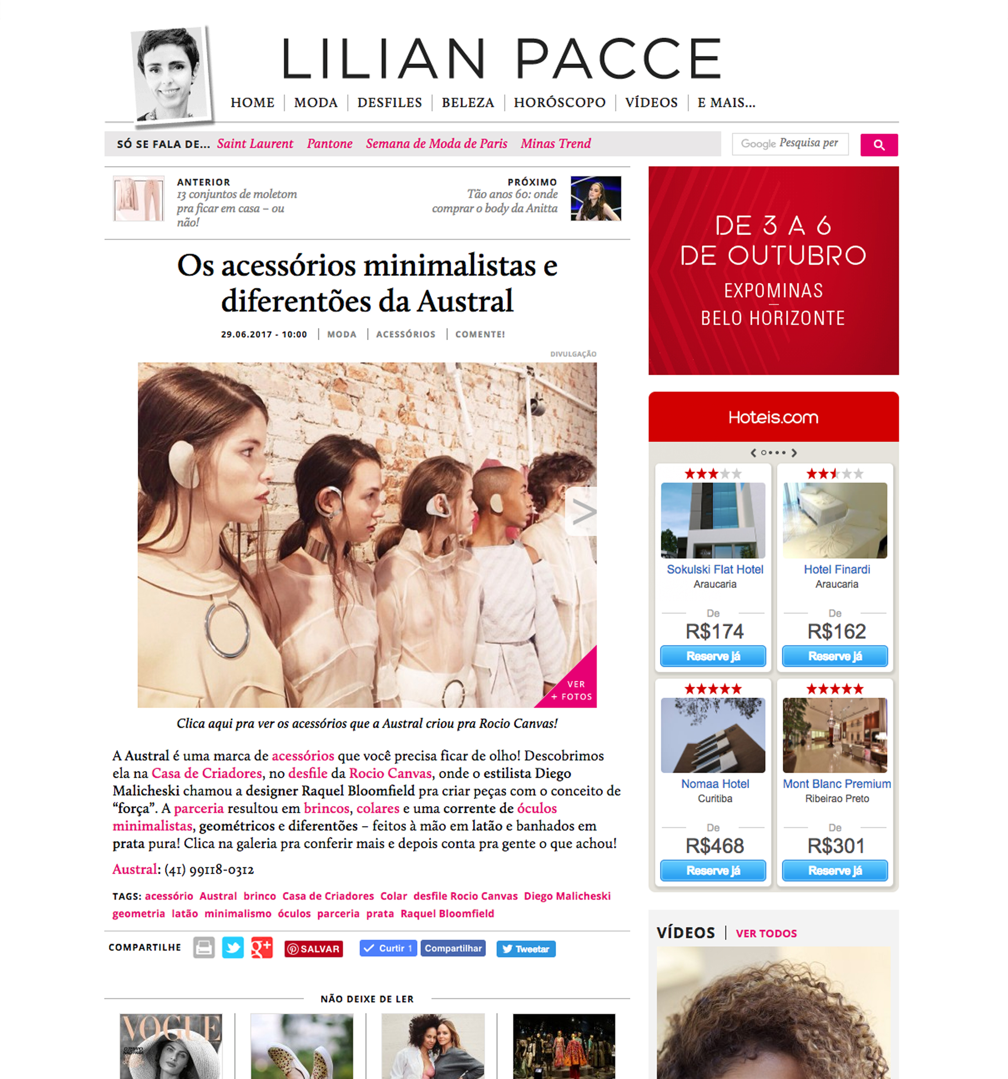 Site Lilian Pacce