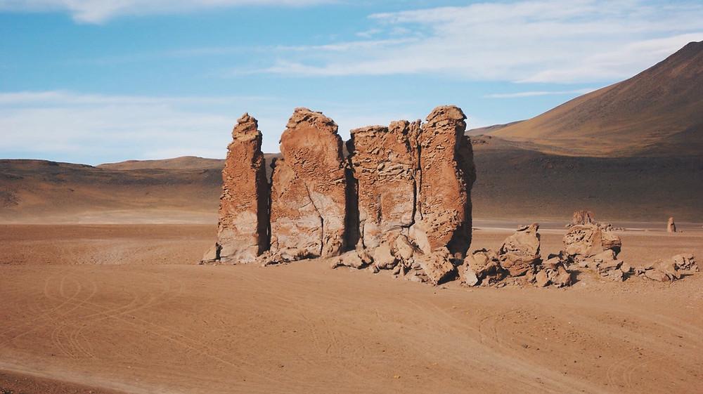 Monjes de la Pacana - Desierto de Atacama, Chile - 2015 - Foto Raquel Bloomfield