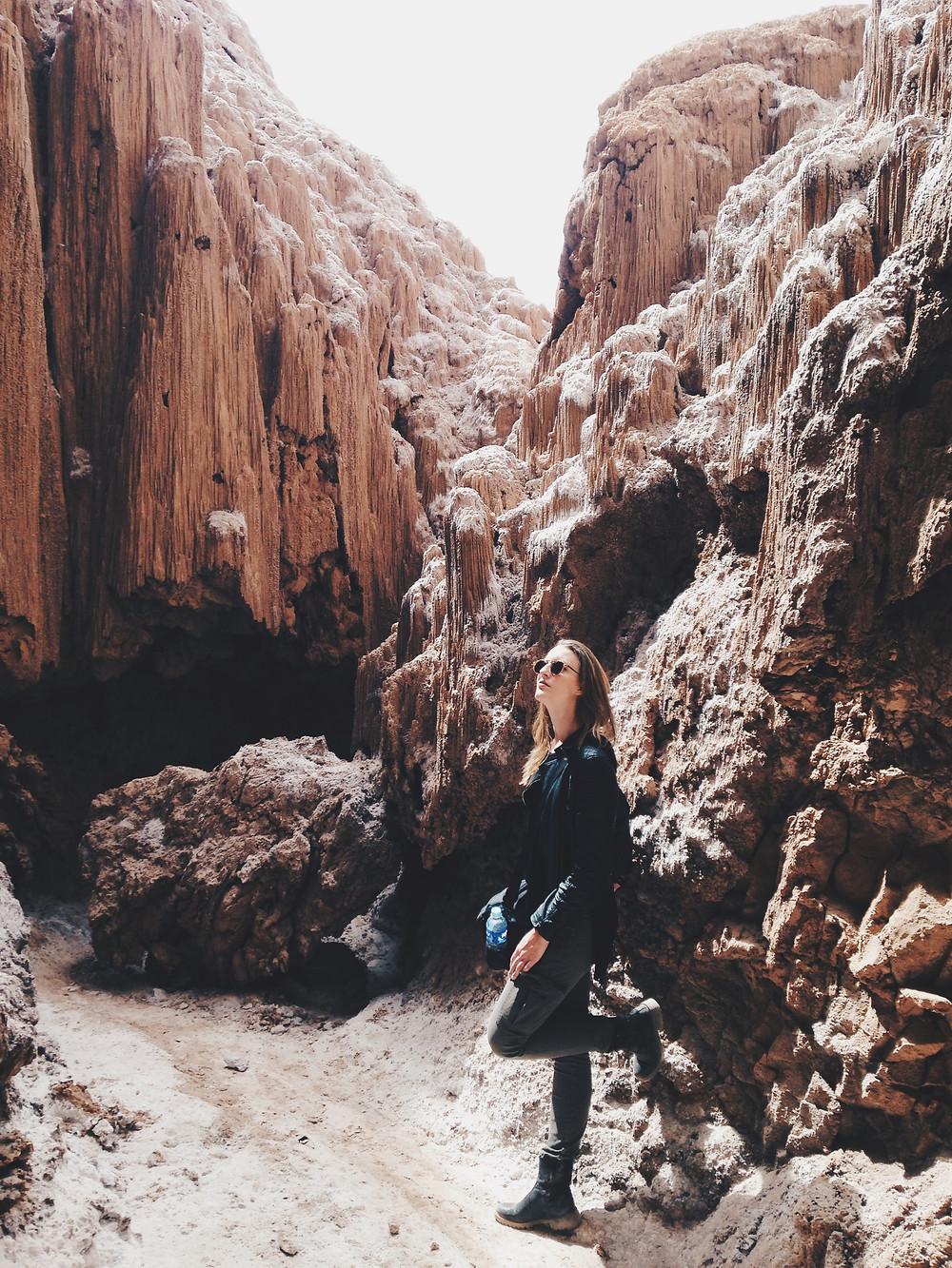 Caverna de Sala - Valle de la Luna, Atacama    | Austral Acessórios |