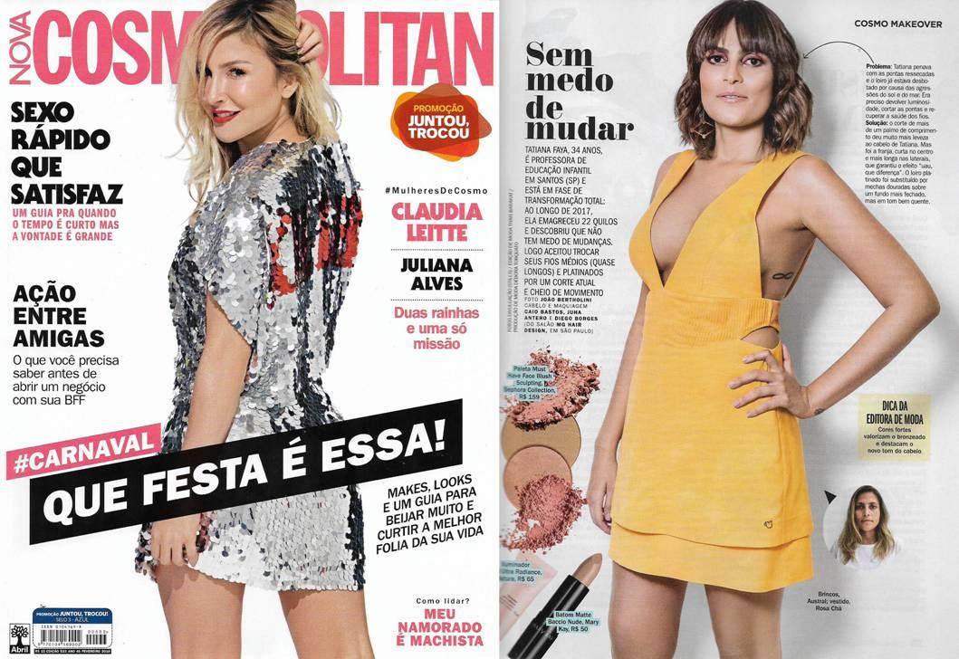 Revista Cosmopolitan Fevereiro 2018