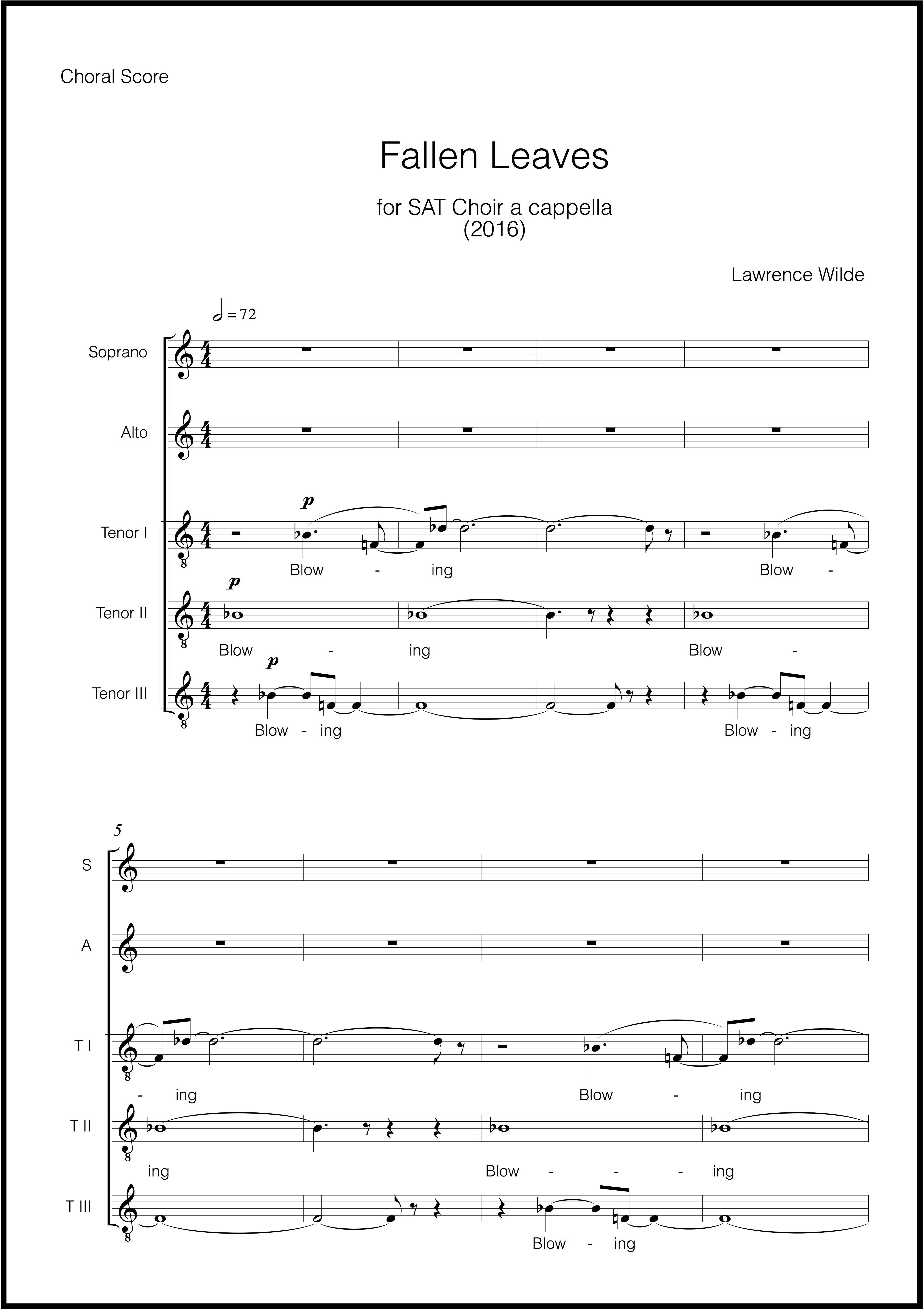 Fallen Leaves SAT Choir (Page 5)