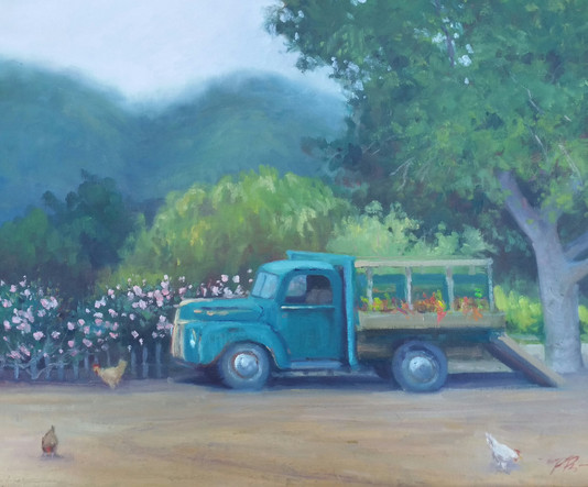 Cowgirl's Ride, Carmel Valley