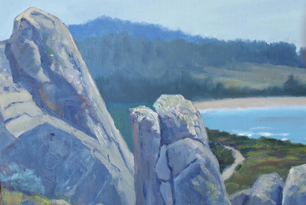 Sentinels, Carmel River Beach
