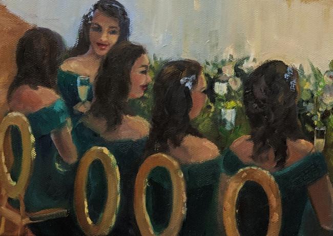 The Bridesmaids (detail)
