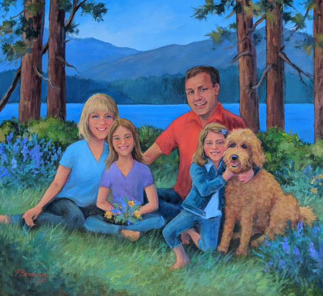 Tahoe Family Portrait