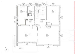 Ground Floor - Existing | Scale 1:50 | Technical Design