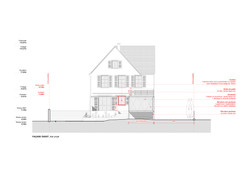 West Elevation - Project | Scale 1:100 | Planning Application