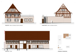 Elevations (East & West) - Project | Scale 1:100 | Technical Design
