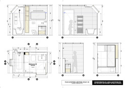 Plan, Elevations & Sections | Scale 1:25 | Technical Design