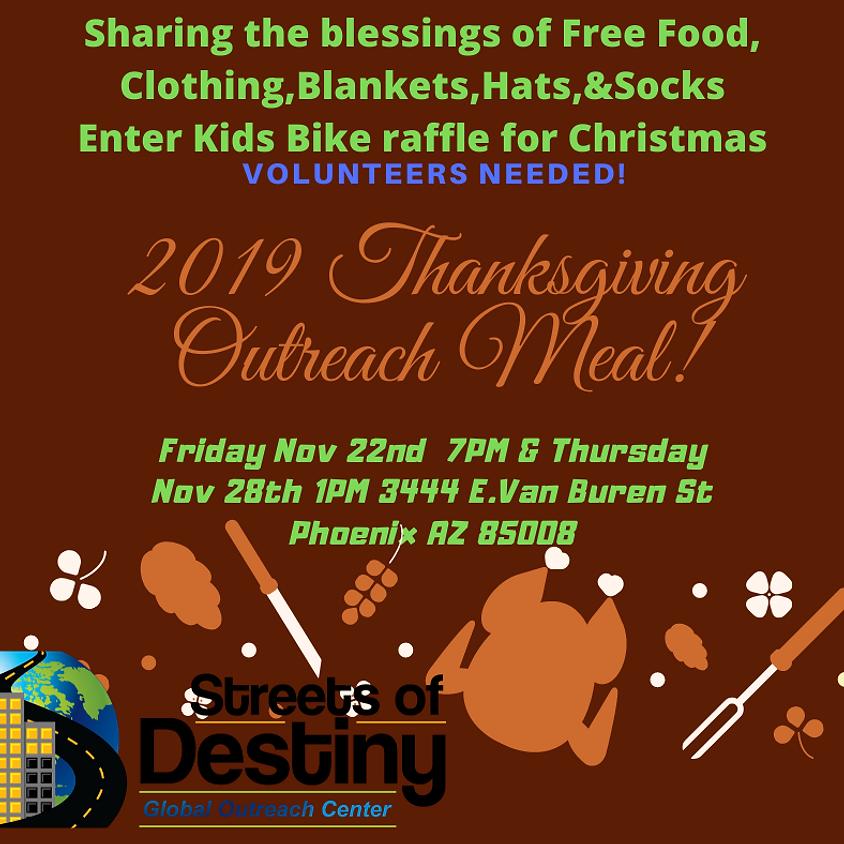 2020 Thanksgiving Outreach