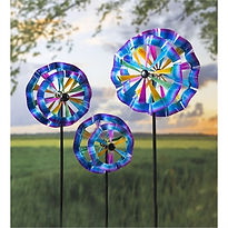 MTC Evergreen Spinners flowers group of