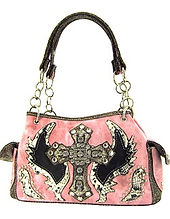 pink cross wings snake skin purse.jpg