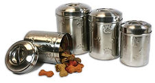 Leather Brothers New-Stainless-Canisters