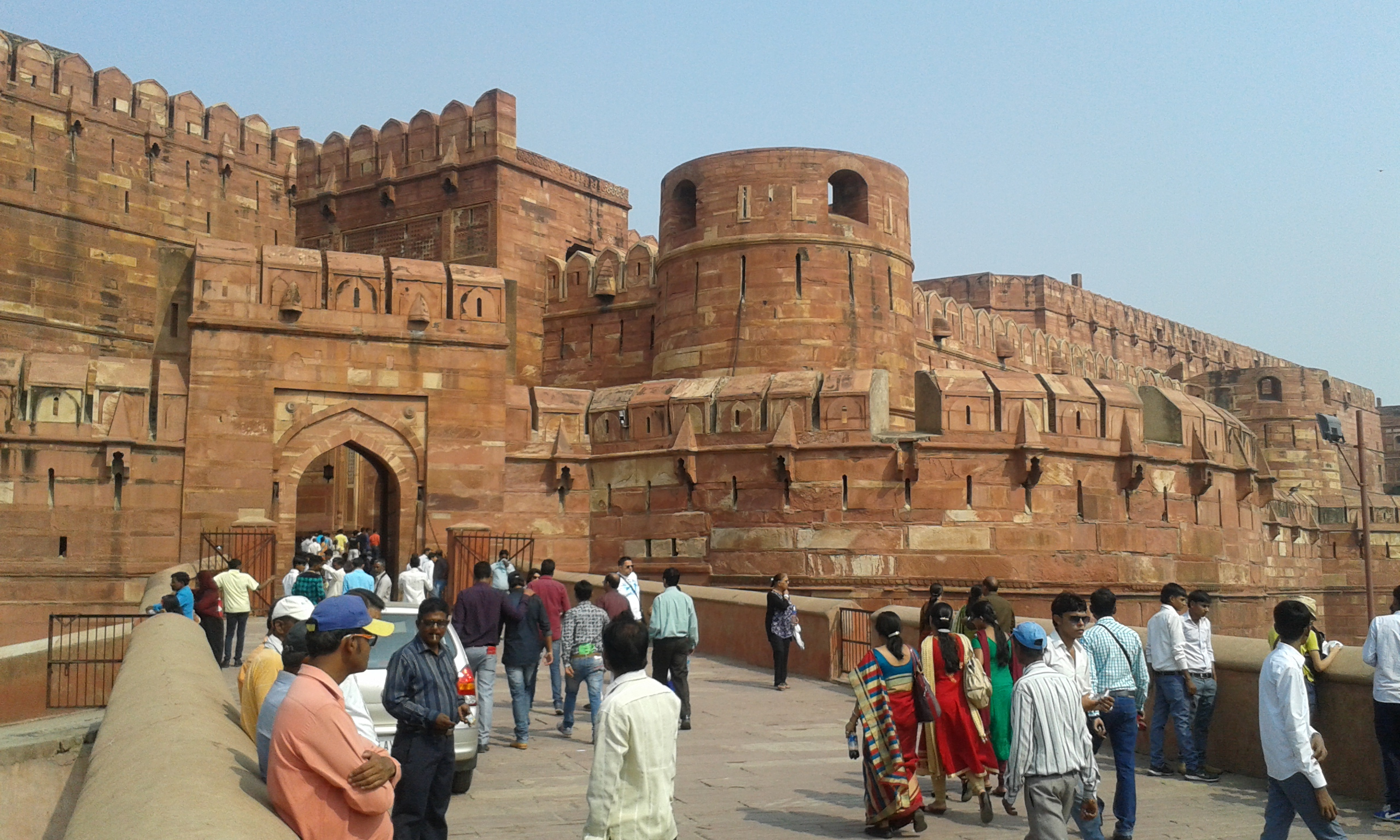 agra fort sightseeing