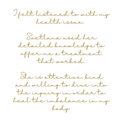 Judith, Female Health