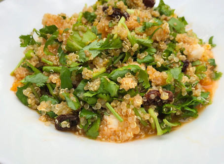 Quinoa couscous