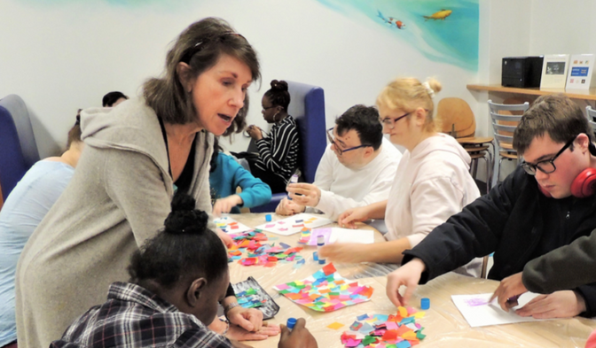 New Arts Program for Adults with Intellectual and Developmental Disabilities at Silvermine Arts Cent