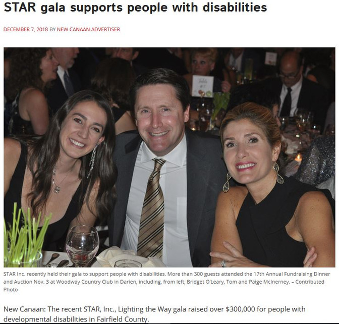 STAR gala supports people with disabilities