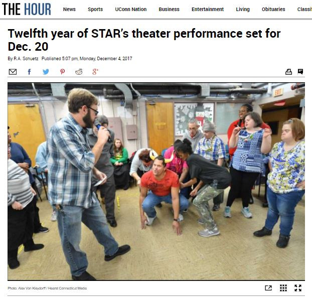 "The Hour: ""Twelfth year of STAR's theater performance set for Dec. 20"""