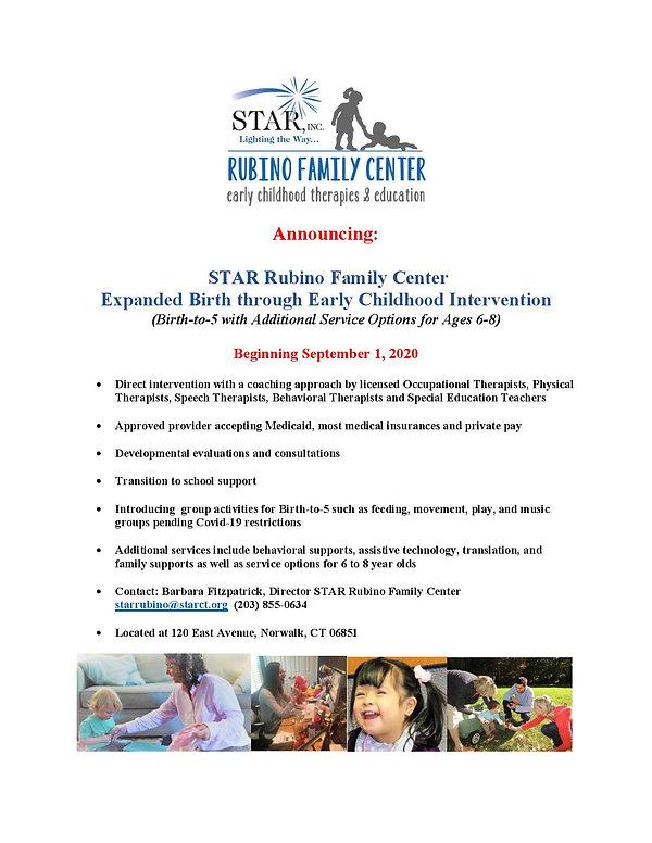 STAR Rubino Family Center Bulletin FINAL