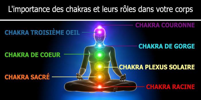 Chakras roues énergétiques centres d'énergies 7 chakras rôles des chakras paix divine harmonisation équilibre éveil spirituel santé amour de soi amour divin sagesse divin
