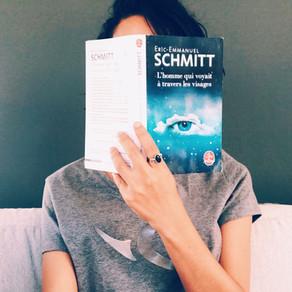 """A travers mes lunettes ... """"L'Homme qui voyait à travers les visages"""" - Eric-Emmanuel Schmitt"""