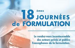 18èmes Journées de Formulation