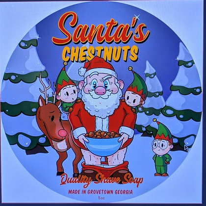 Santa's Chestnuts Shave Products