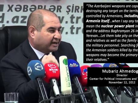 November 12, 2012 Statement by Mubariz Ahmedoglu