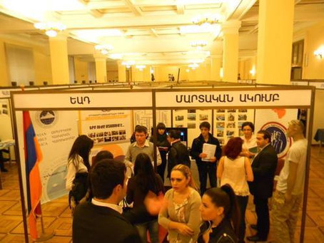 """Armenian Assembly of America Participates in """"Look into the Future"""" Youth Expo in Armenia"""