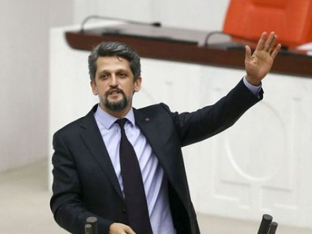 Turkish MP Garo Paylan Suspended from Parliament for Three Days