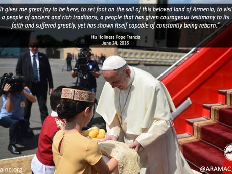 Pope Francis in Armenia, 2016
