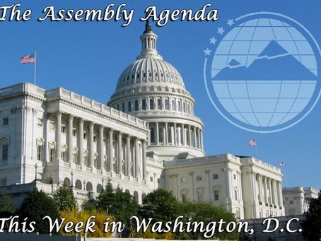 The Assembly Agenda: This week in Washington, D.C. – September 4, 2014