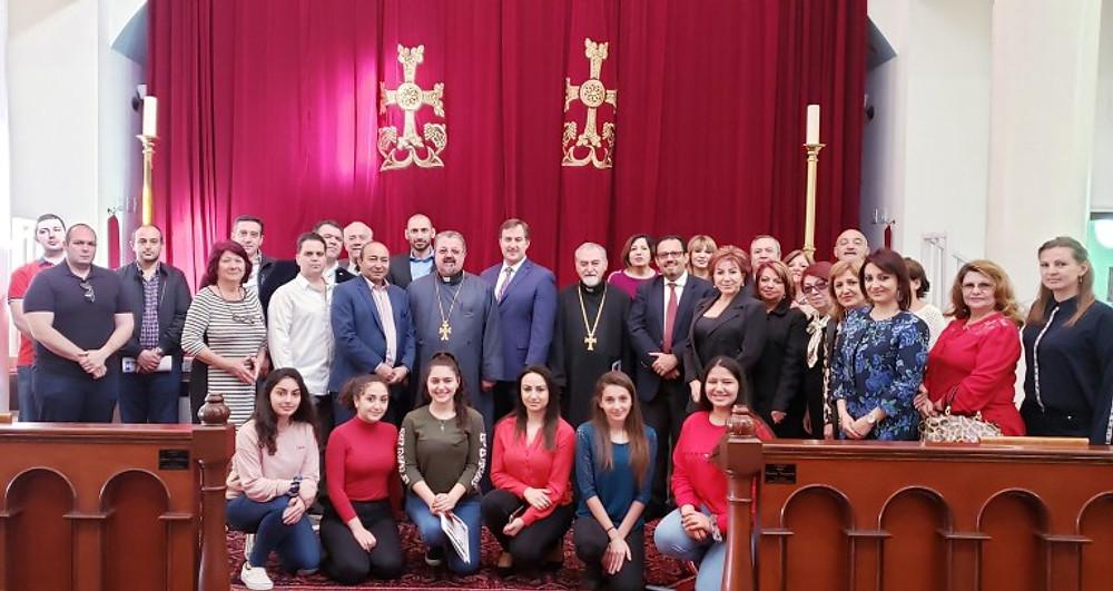 Las Vegas community briefing at St. Geragos Armenian Apostolic Church