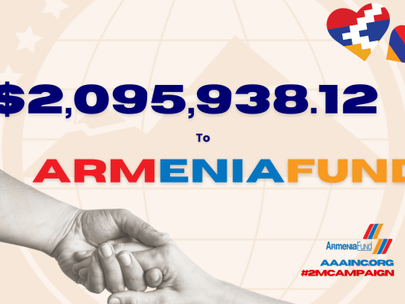 Armenian Assembly Surpasses $2 Million Fundraising Goal For Armenia Fund Humanitarian Campaign