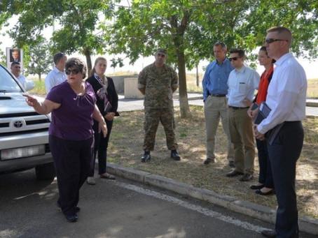 U.S. Senate Committee on Armed Services Visits Armenia-Azerbaijan Border