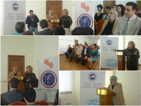 Armenian Assembly's Yerevan Office Completes 3rd Stage of Geo-Strategic Training Club in Armenia