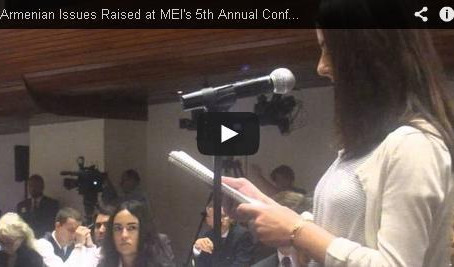 AAA Interns Raise Armenian-American Issues at 5th Annual Middle East Institute Conference on Turkey