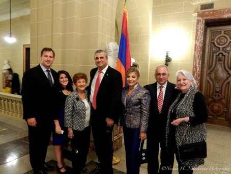 Armenian Assembly Joins Armenian Embassy for Independence Day Celebration