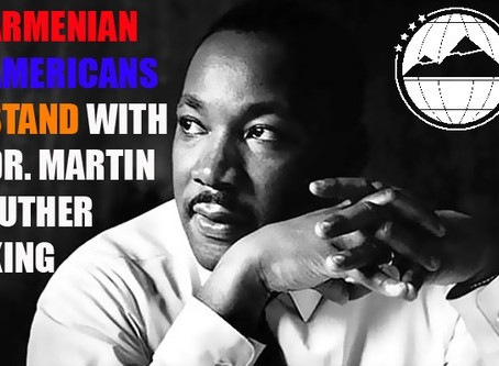 Armenian-Americans Stand with African-Americans,  Share in Dr. Martin Luther King's Dream