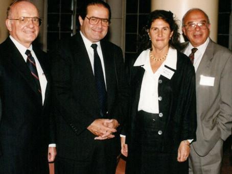 AAA Mourns the Passing of Supreme Court Justice Antonin Scalia, Recalls Historic 1995 Armenia Trip