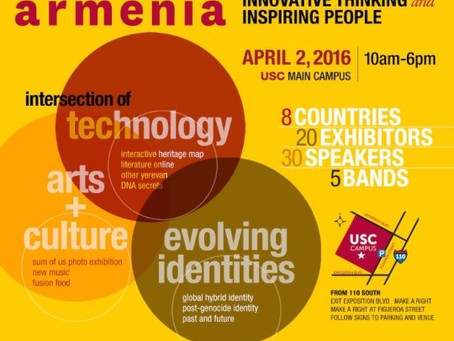 Armenian Genocide Museum of America to Participate in USC's INNOVATE ARMENIA Festival