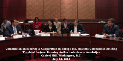 Recapping Capitol Hill Conferences –  Turmoil in Azerbaijan & Syria