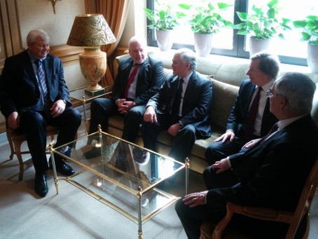 Nalbandian Attends Munich Security Conference and Meets with OSCE Officials