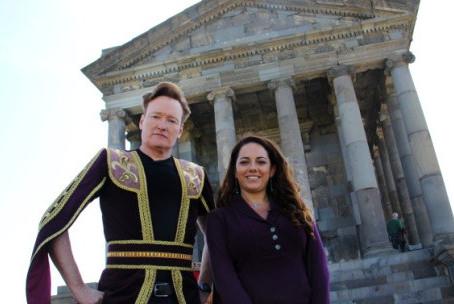Conan O'Brien Filming in Armenia