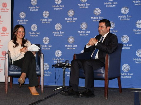 Archbishop Aykazian Asks HDP Co-Leader Demirtas About Armenian Genocide